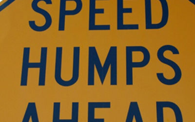 Speed Bumps the best tool for traffic calming