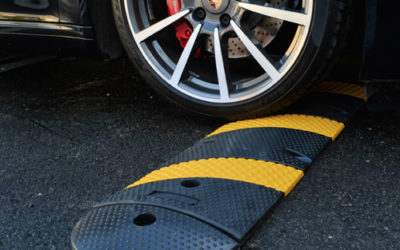 Safe family on the road with Speed Bumps